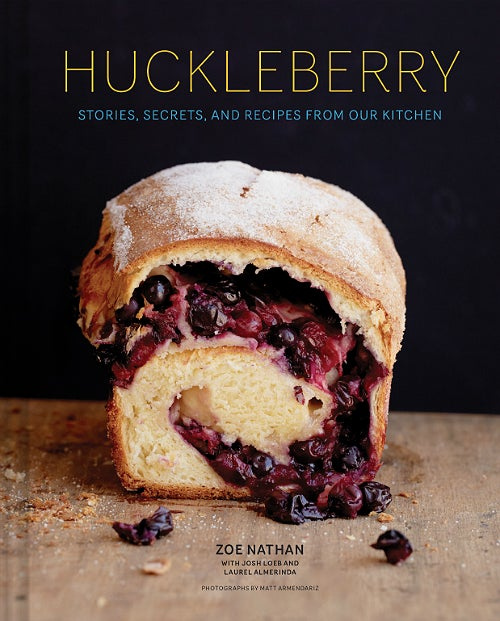 Huckleberry cookbook cover