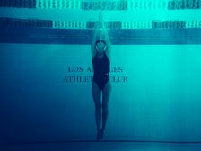 Swimmer at Los Angeles Athletic Club