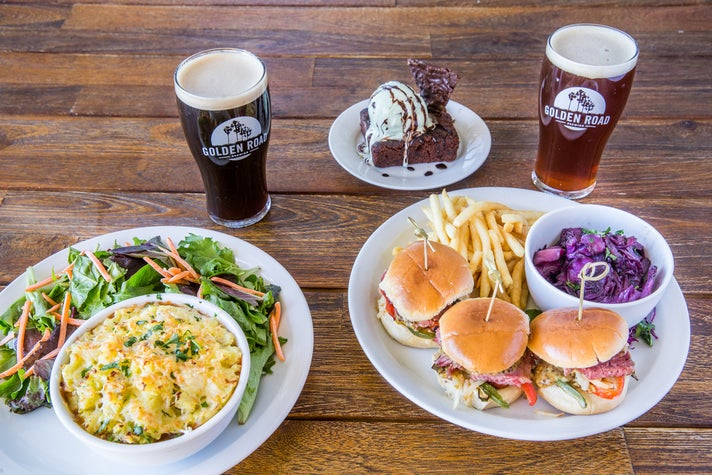 St. Paddy's Celebration specials at Golden Road Brewing