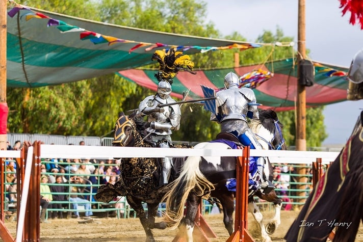 The Jousters at Renaissance Pleasure Faire