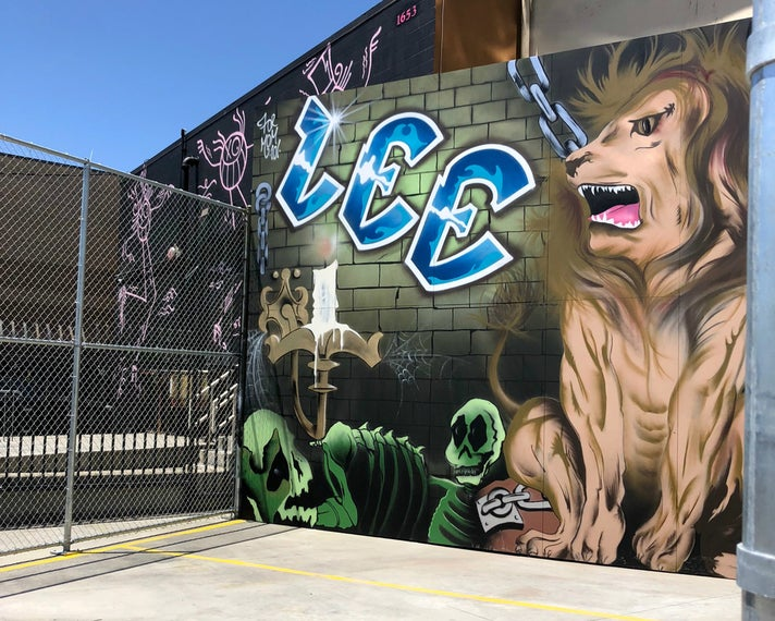 "LEE Handball Court (""Lion's Den"") at Beyond the Streets"