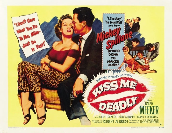 """Kiss Me Deadly"" at the Film Noir Festival"