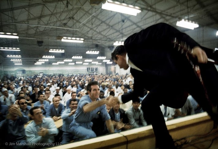 """The Prison Concerts: Folsom And San Quentin (Jim Marshall's Photographs Of Johnny Cash)"" at the GRAMMY Museum"
