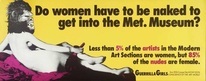 Guerrilla Girls billboard