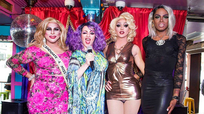 Brunch with the Brunchettes at Hamburger Mary's WEHO