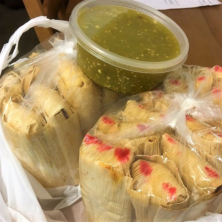 Tamales to go from Tamales Alberto