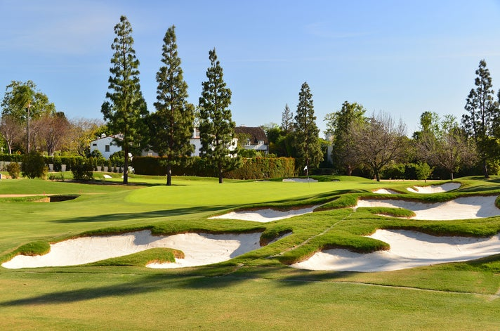 Golf course at Wilshire Country Club