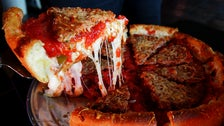 Deep dish pizza at Masa | Photo by Tara de Lis