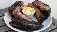 Bartz Barbecue brisket, beef ribs and pulled pork