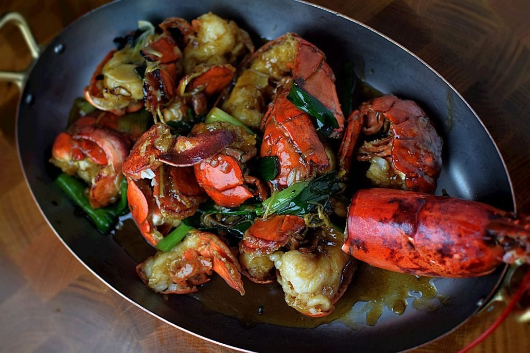 Cantonese Lobster at CATCH Los Angeles