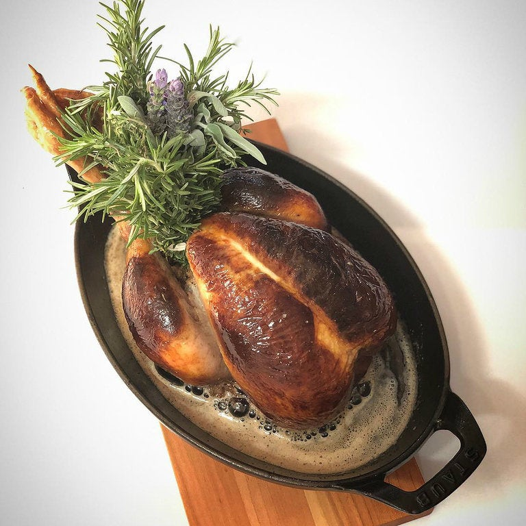 Roast Chicken for Two at Mezzanine in the NoMad Los Angeles